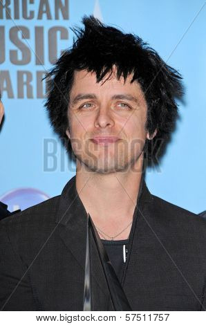 Billie Joe Armstrong  at the 2009 American Music Awards Press Room, Nokia Theater, Los Angeles, CA. 11-22-09