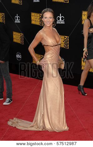 Edyta Sliwinska at the 2009 American Music Awards Arrivals, Nokia Theater, Los Angeles, CA. 11-22-09