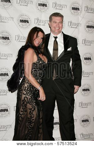 Craig Brettman and Nada Mirat at the Multicultural Motion Picture Association's  17th Annual Diversity Awards, Beverly Hills Hotel, Beverly Hills, CA. 11-22-09
