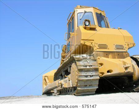 Bulldozer Used In Construction.