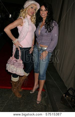 CC Perkinson and Sabrina Parisi at the Cabana Club Holiday Soiree, Cabana Club, Hollywood, CA. 12-01-09