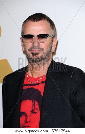 Ringo Starr at The GRAMMY Nominations Concert Live!, Club Nokia, Los Angeles, CA.  12-02-09