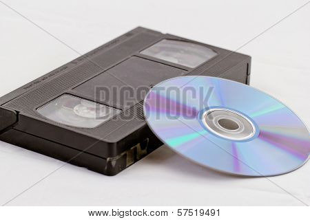 Vhs And Dvd