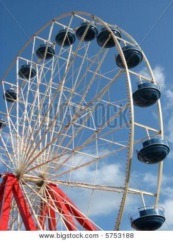Red, White, and Blue Ferris Wheel