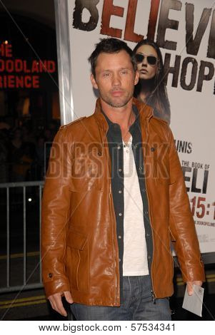 Jeffrey Donovan at 'The Book Of Eli' Premiere, Chinese Theater, Hollywood, CA. 01-11-10
