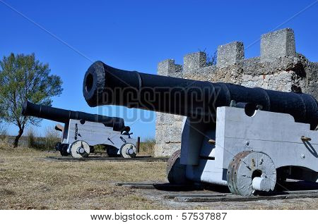 Cannons at Fort Frederica