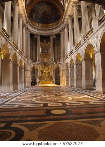 Royal Chapel of Versailles, France