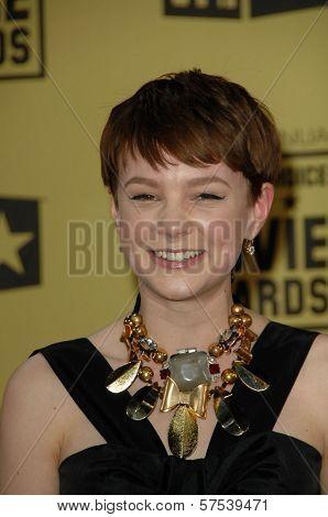 Carey Mulligan at the 15th Annual Critic's Choice Awards, Hollywood Palladium, Hollywood, CA. 01-15-10