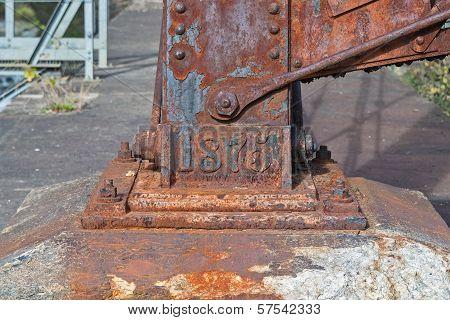 Railroad Trestle Footing
