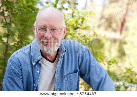 Handsome Senior Man Portrait