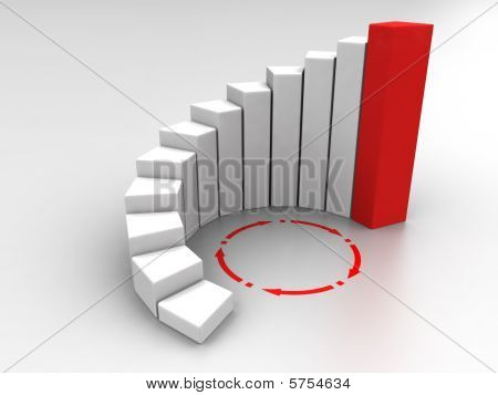 3D Business Graph