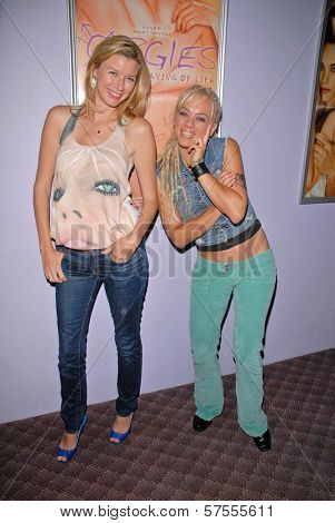 Andrea Harrison and Tonya Kay at the dual screenings of