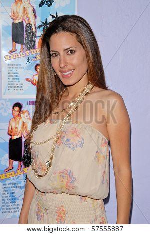Kerri Kasem at the dual screenings of