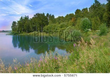 Lake Scenic Landscape