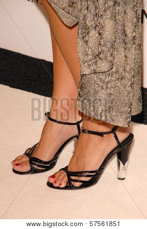 Audrey Tautou's shoes  at the 'Coco Before Chanel' Premiere Party. Chanel, Beverly Hills, CA. 09-09-09