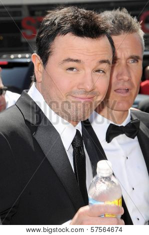 Seth MacFarlane at the 61st Annual Primetime Creative Arts Emmy Awards. Nokia Theatre, Los Angeles, CA. 09-12-09