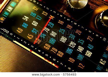 alte Radio dial