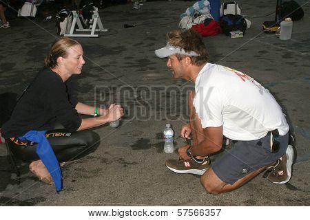 David Chokachi at the 23rd Annual Nautica Malibu Triathlon. Zuma Beach, Malibu, CA. 09-13-09