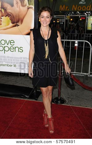 Sasha Alexander at the World Premiere of 'Love Happens'. Mann Village Theatre, Westwood, CA. 09-15-09