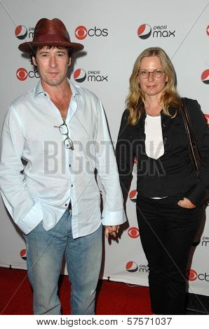 Rob Morrow and Debbon Ayer at the CBS New Season Premiere Party. MyHouse, Hollywood, CA. 09-16-09