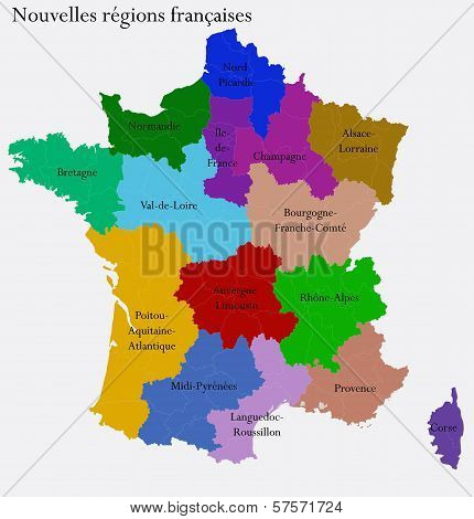 New French regions