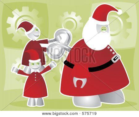 Winding Up Santabot