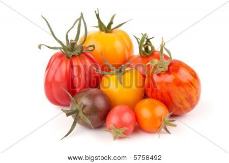 Variation Of Juicy Tomatoes