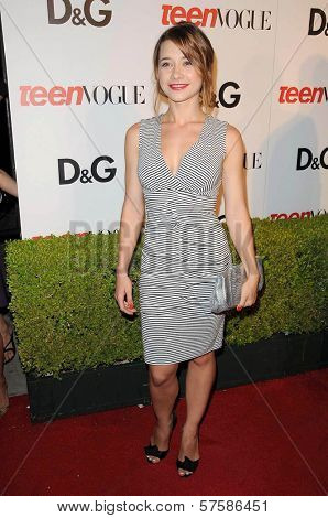 Olesya Rulin at the 7th Annual Teen Vogue Young Hollywood Party. Milk Studio, Hollywood, CA. 09-25-09