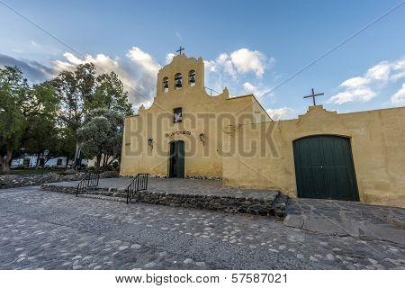 Cachi Church In Salta, Northern Argentina.
