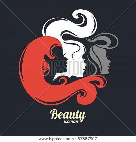 Beautiful Girl Silhouettes