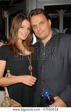 Countess Madeleine Walderdorff and Damian Chapa at the Los Angeles Premiere of 'Death of Evil', Benefitting the National Fathers Resource Center. Regency Fairfax Cinemas, West Hollywood, CA. 10-01-09