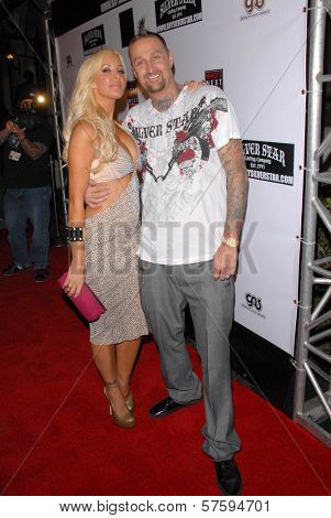 Charis B and Luke Burrett at the Silver Star Casting Company Spring 2010 Collection Debut Party. Social Hollywood, Hollywood, CA. 10-12-09