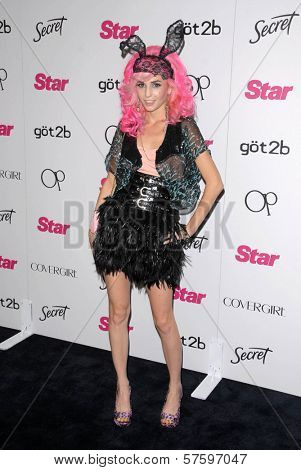 Audrey Kitching at the Star Magazine 5th Anniversary Party. Bardot Hollywood, Hollywood, CA. 10-13-09