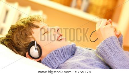 Boy Listen To Music