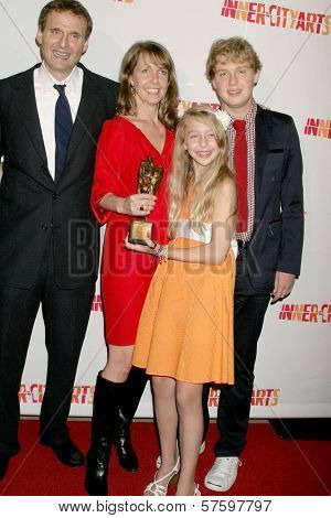 Philip Rosenthal and family at the 20th Anniversary Inner City Arts Imagine Gala and Auction. Beverly Hilton Hotel, Beverly Hills, CA. 10-15-09