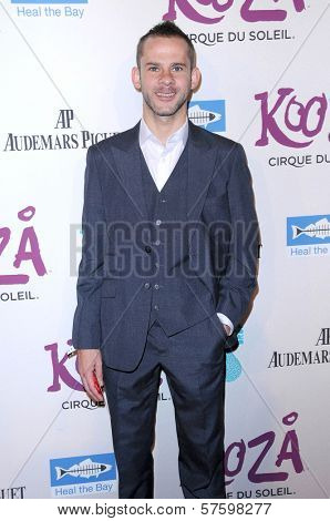 Dominic Monaghan at Cirque Du Soleil's 'Kooza' Opening Night Gala. Santa Monica Pier, Santa Monica, CA. 10-16-09