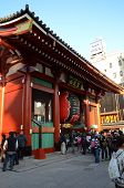 Asakusa, Japan- Nov 21, 2013: Sensoji Temple Is Very Popular Temple.