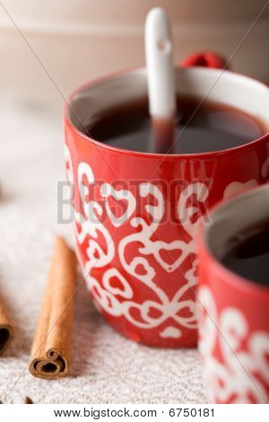 Hot Christmas Drink With Spices