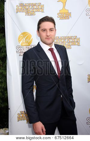 LOS ANGELES - JUN 26:  Emmett Skilton at the 40th Saturn Awards at the The Castaways on June 26, 2014 in Burbank, CA