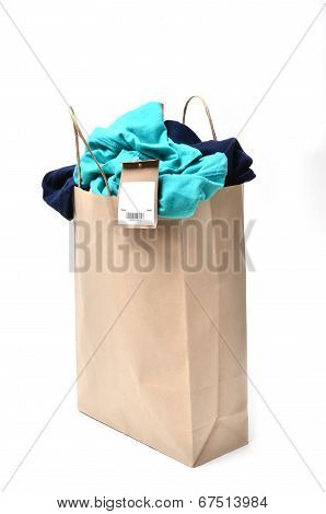 Clothes In A Shopping Bag