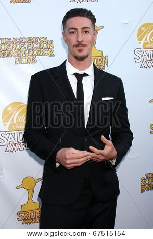 LOS ANGELES - JUN 26:  Eric Balfour at the 40th Saturn Awards at the The Castaways on June 26, 2014 in Burbank, CA