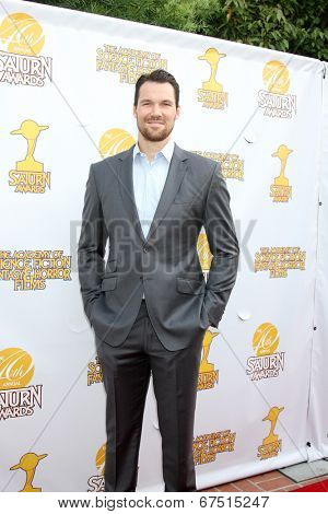 LOS ANGELES - JUN 26:  Daniel Cudmore at the 40th Saturn Awards at the The Castaways on June 26, 2014 in Burbank, CA