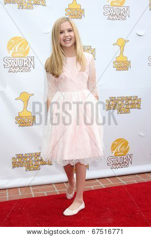 LOS ANGELES - JUN 26:  Kyla Kennedy at the 40th Saturn Awards at the The Castaways on June 26, 2014 in Burbank, CA