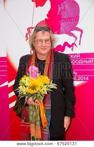 MOSCOW - JUNE, 28: Director Andrei Zhitinkin. 36st Moscow International Film Festival. Closing Ceremony at Rossiya Cinema . June 28, 2014 in Moscow, Russia
