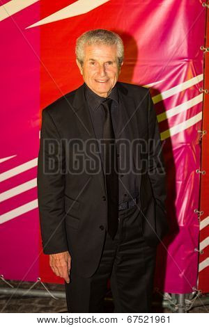 MOSCOW - JUNE, 19: Director Claude Lelouch . 36st Moscow International Film Festival. Afterparty Opening Ceremony at Neskychy Sad. June 19, 2014 in Moscow, Russia