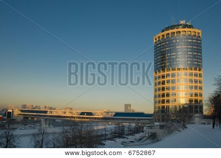 Moscow Business Center. Tower