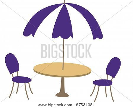 The view of parasol