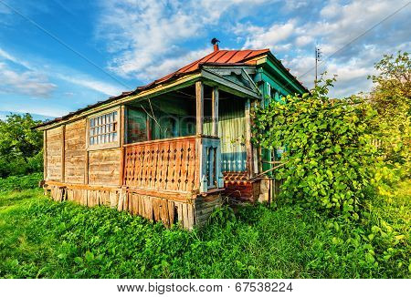 Russian Rural House