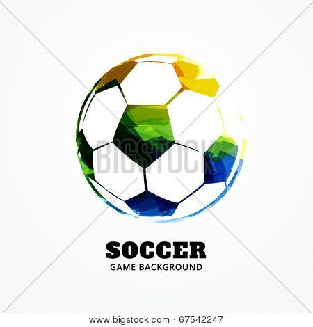 vector football design art background
