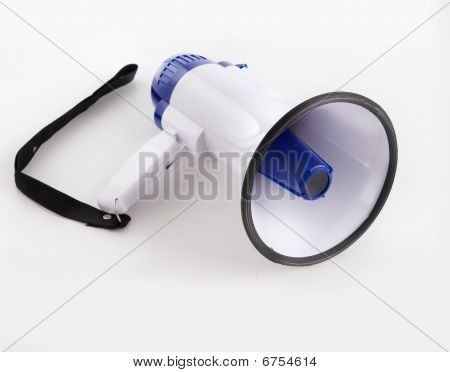 Photo of a bullhorn megaphone